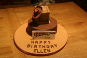 Cake with Indiana Jones' Box