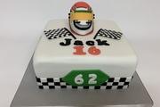 Go-Kart inspired Birthday Cake